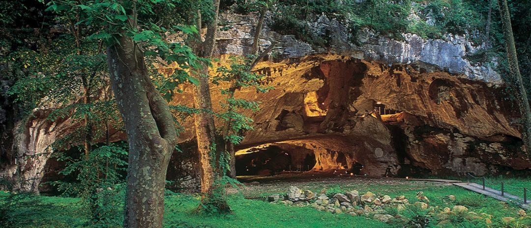 Grotte de Sare Porche © Grottes de Sare