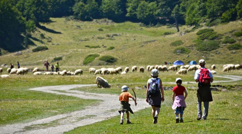 Randonneurs-en-famille-au-pied-du-Pic-du-Midi-dOssau-800