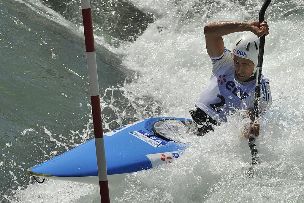 coupe du monde de canoê-kayak sur le stade d'eau vive de Pau