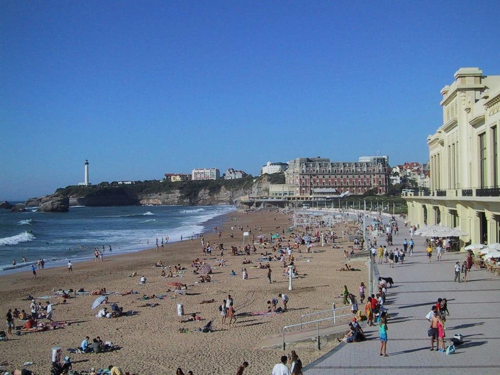 Biarritz Grande plage ©CDT64