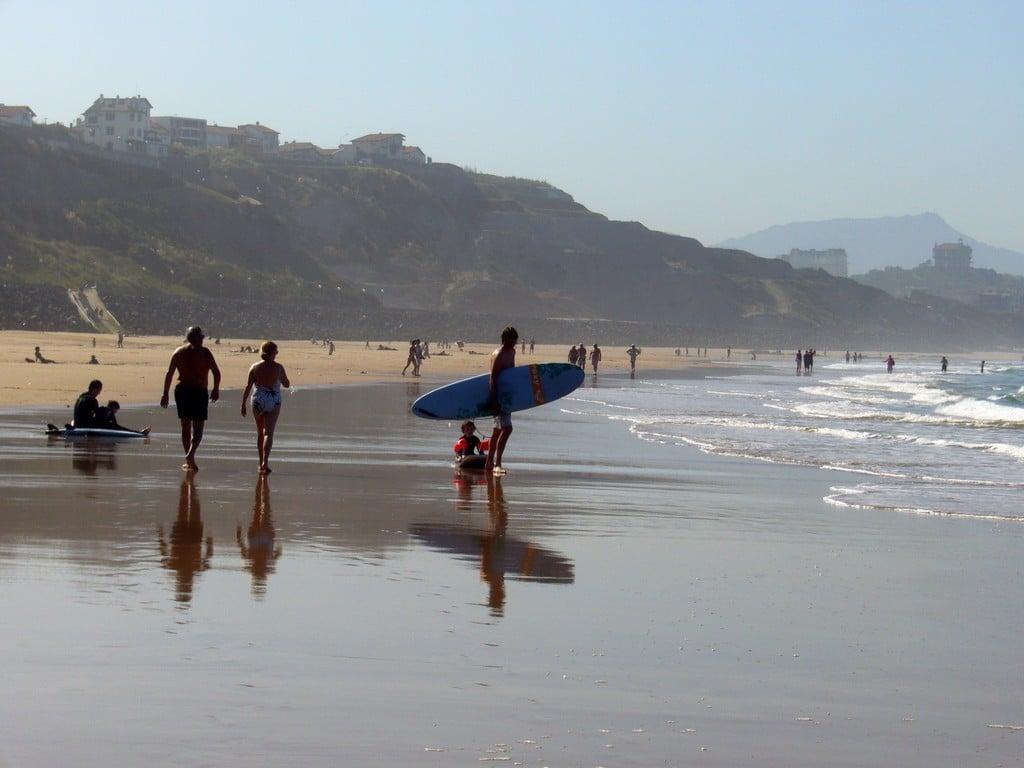Biarritz plage Côte des Basques 011©CDT64