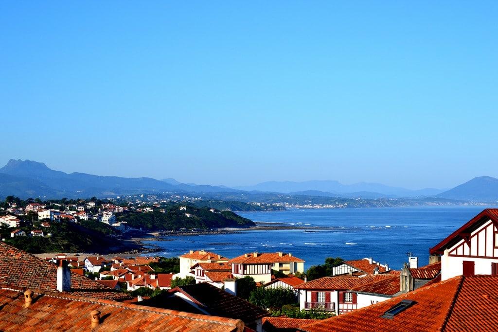 Bidart le village et la mer 001 © OT Bidart