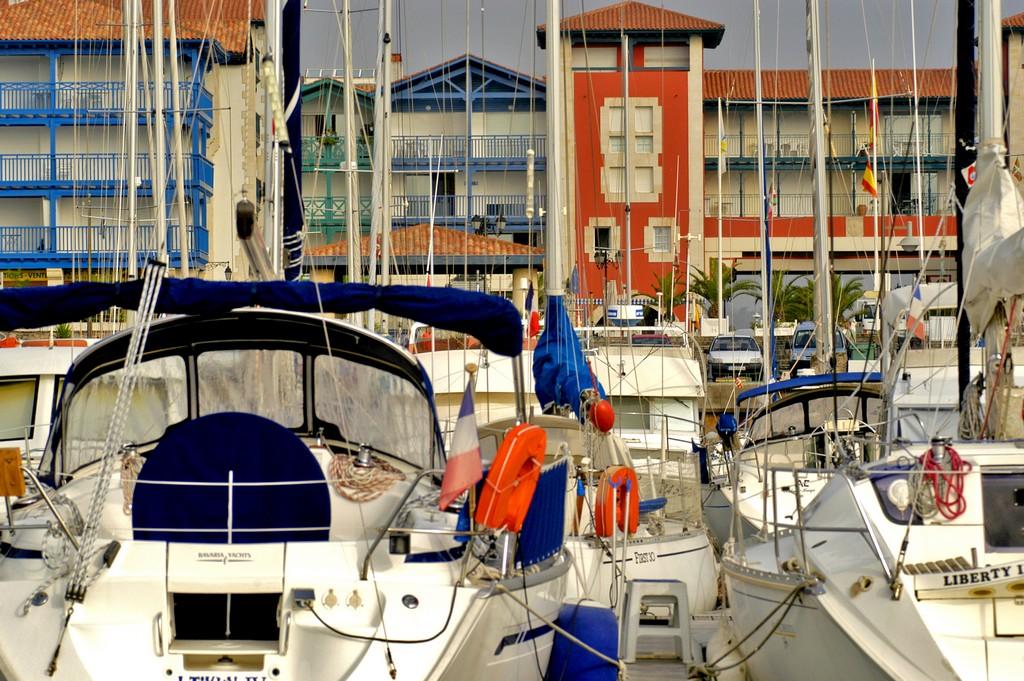 Hendaye le port ©CG64-JM Decompte